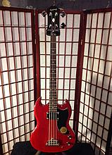 Re-creation of a '60s classic authorized by Gibson Based on the SG with 30-1/2