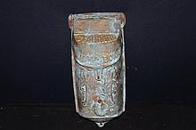OLD SOLID BRASS STANDARD MAIL BOX NEEDS CLEANING - A REAL BEAUTY