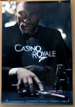 JAMES BOND 007 - CASINO ROYALE - 2006 - Advance One Sheet Movie Poster - 27