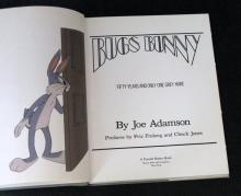 BUGS BUNNY - DELUXE HARD-COVER BOOK - FIFTY YEARS AND ONLY ONE GRAY HARE - Sammis Publishing, 1990 - Amazing 192 page book showing everything Looney Tunes! Many the behind the scenes drawings on the making of the iconic character. Measures 9