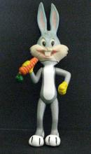 BUGS BUNNY - VINTAGE PVC POSEABLE FIGURE - Warner Bros, 1975 - Fun 11