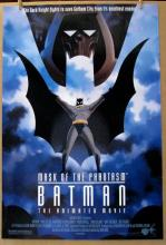 BATMAN THE ANIMATED MOVIE MASK OF THE PHANTASM - 1993 - One Sheet Movie Poster - 27