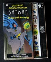 BATMAN THE ANIMATED SERIES - GOLDEN SOUND STORY CHILDREN'S BOOK - Western Publishing Company Inc, 1992 - Classic children's book following the famous detective solve one more crime case. 8 1/2