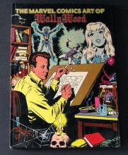 THE MARVEL COMICS ART OF WALLY WOOD - DELUXE HARD-COVER BOOK - Marvel Comics, 1982 - Deluxe full color graphic novel of Wally Wood's great Marvel work. Measures 8
