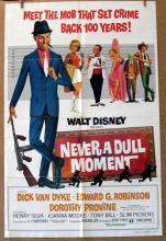 DISNEY'S NEVER A DULL MOMENT - Re-release 1977 - One Sheet Movie Poster - 27