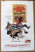 DISNEY'S APPLE DUMPLING GANG RIDES AGAIN - 1979 - One Sheet Movie Poster - 27