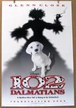 DISNEY'S 102 DALMATIONS - 2000 - Advance One Sheet Movie Poster - 27