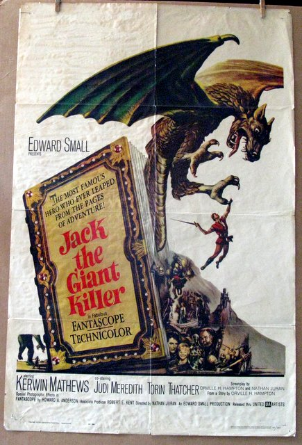 JACK THE GIANT KILLER - 1962 - One Sheet Movie Poster - 27
