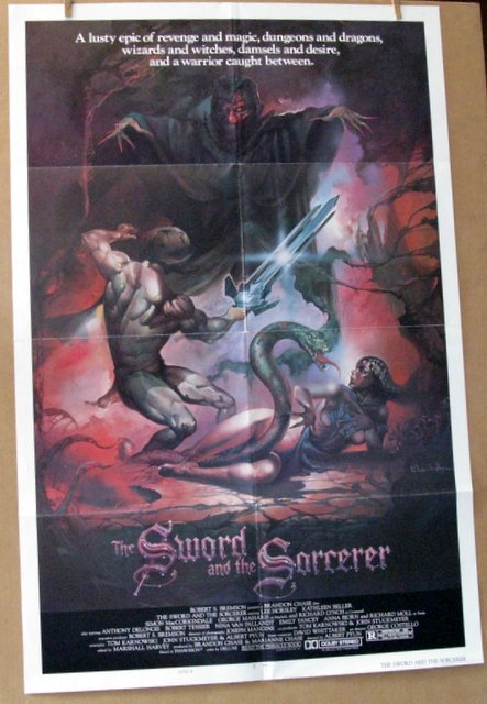 THE SWORD AND THE SORCERER - 1982 - One Sheet Movie Poster Style B - 27