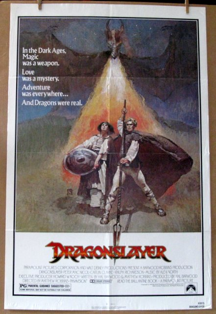 DRAGONSLAYER - 1981 - One Sheet Movie Poster - 27