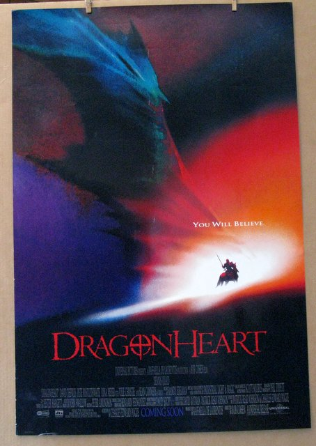 DRAGONHEART - 1996 - One Sheet Movie Poster - 27
