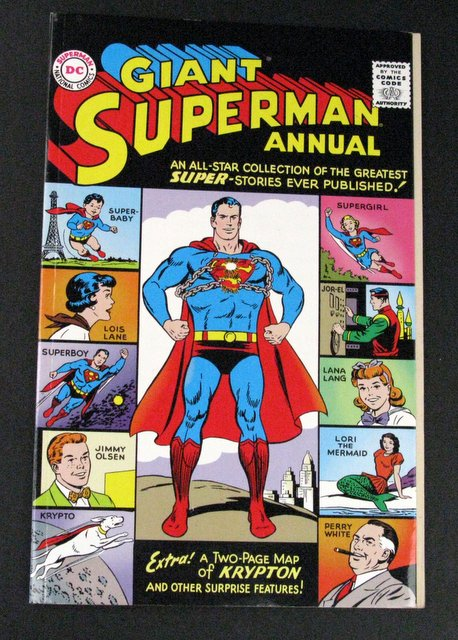GIANT SUPERMAN 1998 ANNUAL - DELUXE COMIC BOOK - DC Comics, 1998 - Amazing collection of Superman's greatest tales in celebration of the year. Near Mint.