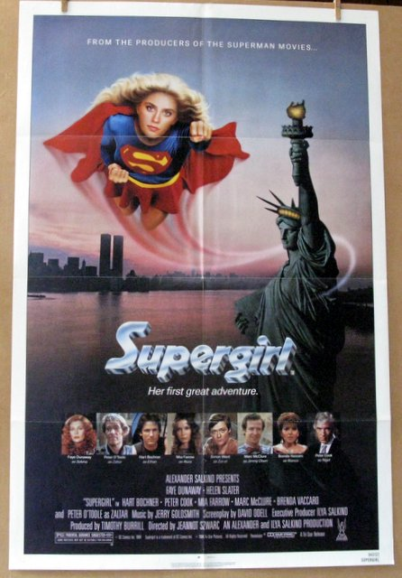 SUPERGIRL - 1984 - One Sheet Movie Poster - 27