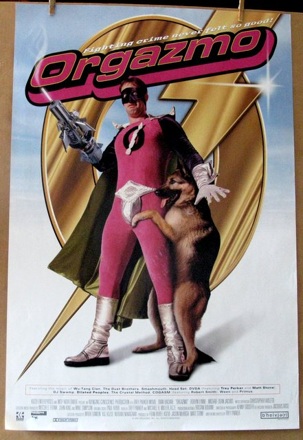 ORGAZMO - 1998 - One Sheet Movie Poster - 27