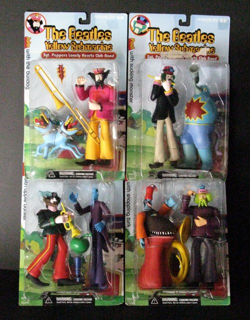 THE BEATLES YELLOW SUBMARINE - COMPLETE SERGEANT PEPPER SET OF FOUR 8
