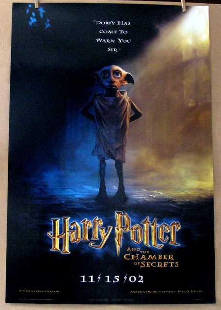 HARRY POTTER AND THE CHAMBER OF SECRETS - 2002 - Advance One Sheet Movie Poster - 27