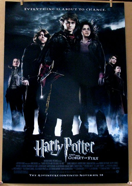 HARRY POTTER AND THE GOBLET OF FIRE - 2005 - One Sheet Movie Poster - 27