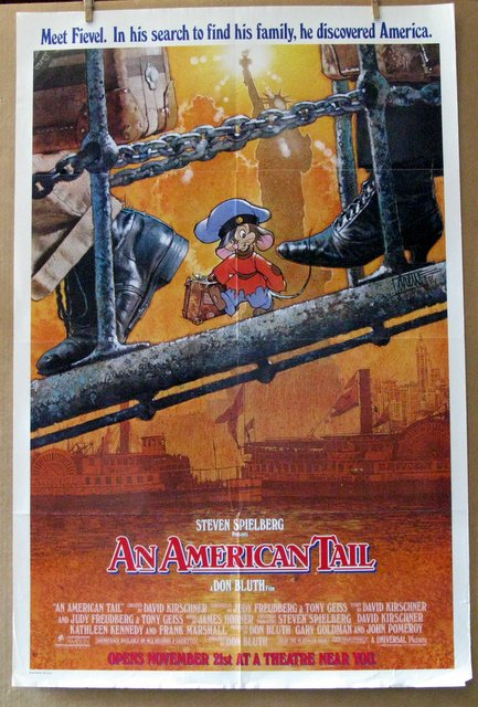 AN AMERICAN TAIL - 1986 - One Sheet Movie Poster - 27