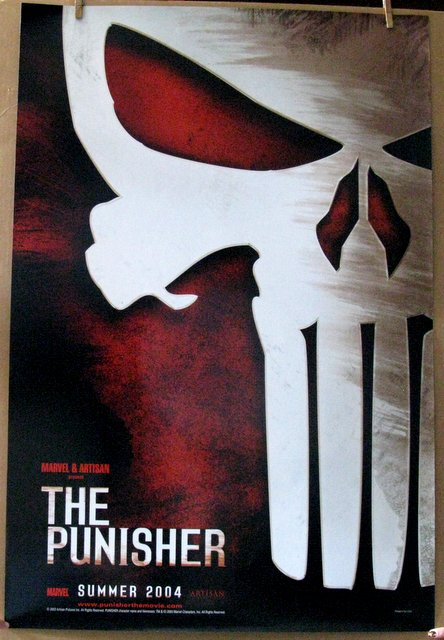 THE PUNISHER - 2004 - Advance One Sheet Movie Poster - 27