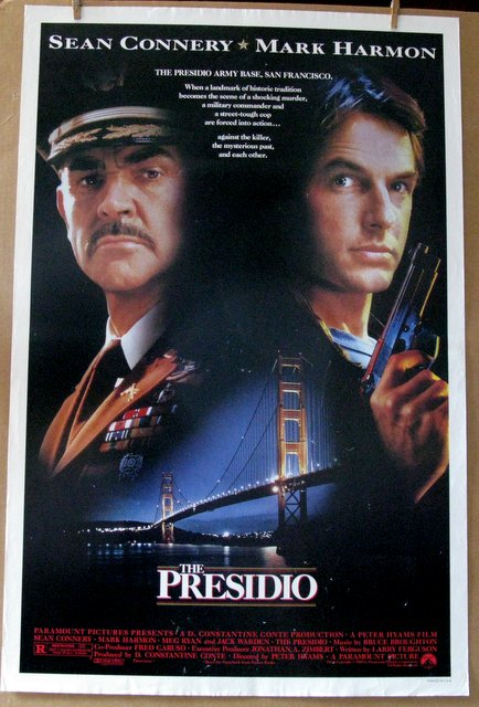 SEAN CONNERY - THE PRESIDIO - 1988 - One Sheet Movie Poster - 27