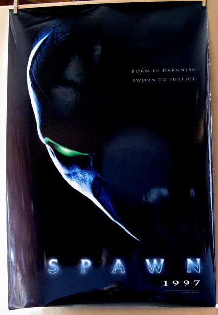 SPAWN - 1997 - Advance One Sheet Movie Poster - 27