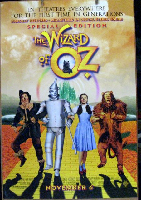 WIZARD OF OZ - MGM,1999 - One Sheet Movie Poster - 27