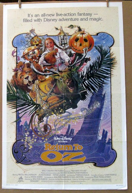 DISNEY'S RETURN TO OZ - 1985 - One Sheet Movie Poster - 27