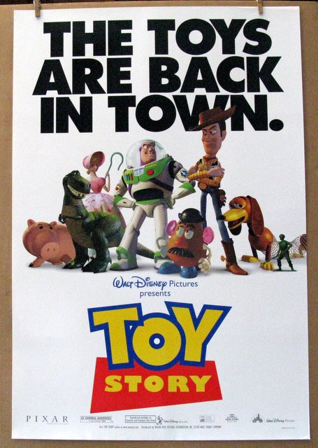 DISNEY'S TOY STORY - 1995 – Advance. One Sheet Movie Poster - 27