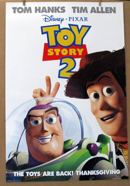 DISNEY'S TOY STORY 2 - 1999 - Advance One Sheet Movie Poster - 27
