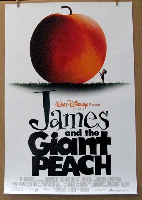 DISNEY'S JAMES AND THE GIANT PEACH - 1996 - One Sheet Movie Poster - 27