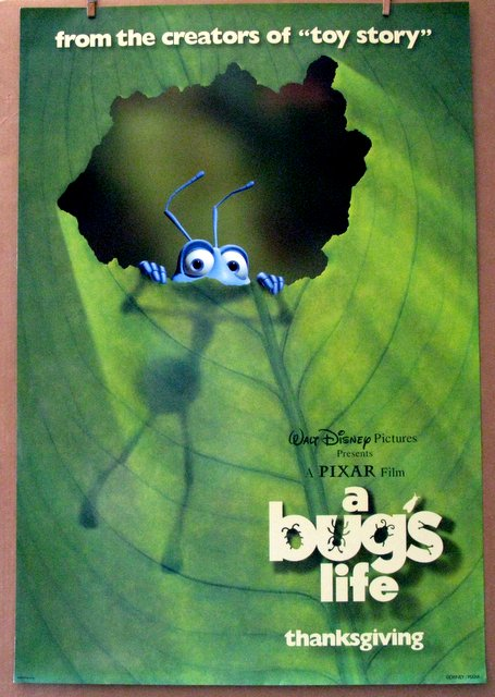 DISNEY'S A BUG'S LIFE - 1998 - One Sheet Movie Poster - 27