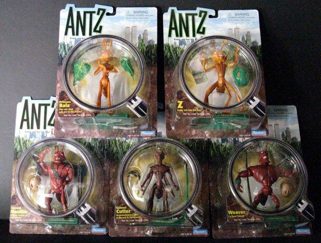 ANTZ - COMPLETE SET OF FIVE 7