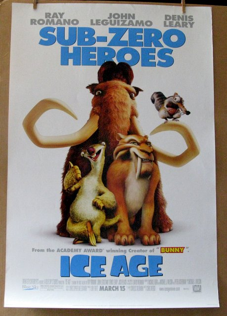 ICE AGE - 2002 - One Sheet Movie Poster - 27