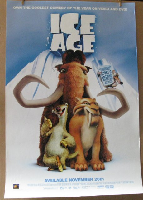 ICE AGE - 2002 - Video Poster - 27