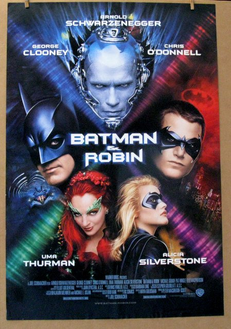 BATMAN AND ROBIN - 1997 - One Sheet Movie Poster - 27