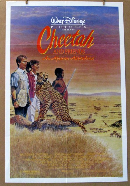 DISNEY'S CHEETAH AND FRIENDS - 1989 - One Sheet Movie Poster - 27