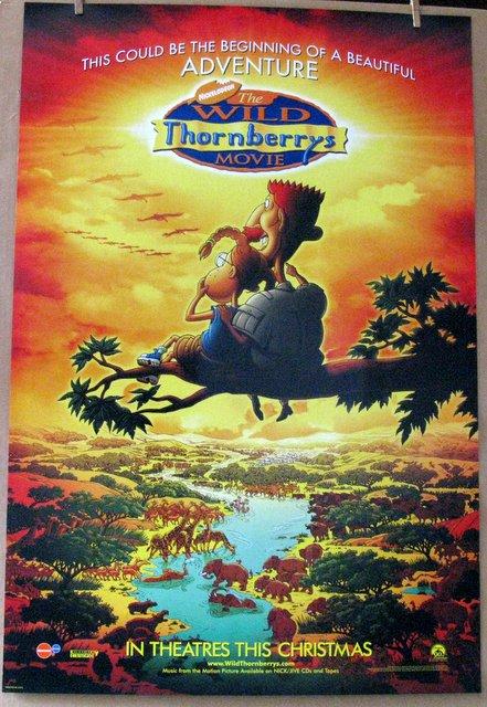 THE WILD THRONBERRYS MOVIE - 2002 - Advance One Sheet Movie Poster - 27