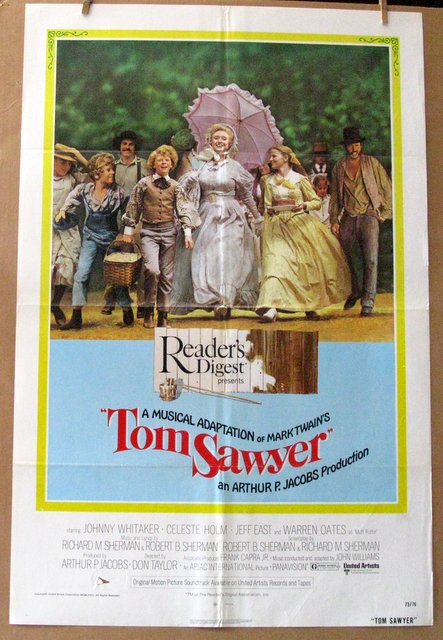 TOM SAWYER - 1973 - One Sheet Movie Poster - 27