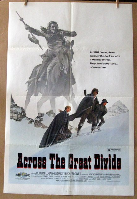 ACROSS THE GREAT DIVIDE - 1977 - One Sheet Movie Poster - 27