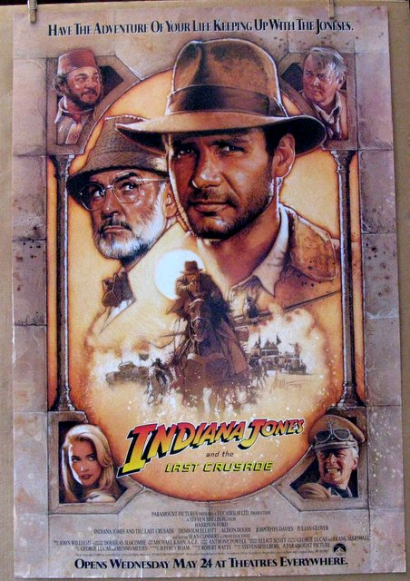 INDIANA JONES AND THE LAST CRUSADE - 1989 - One Sheet Movie Poster - 27