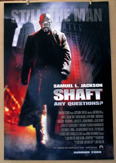 SAMUEL L. JACKSON - SHAFT - 2000 - One Sheet Movie Poster - 27
