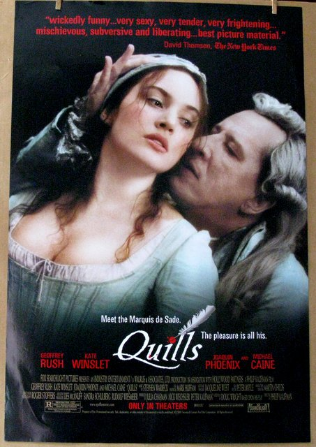 QUILLS - Meet the Marquis de Sade - 2000 - One Sheet Movie Poster - 27