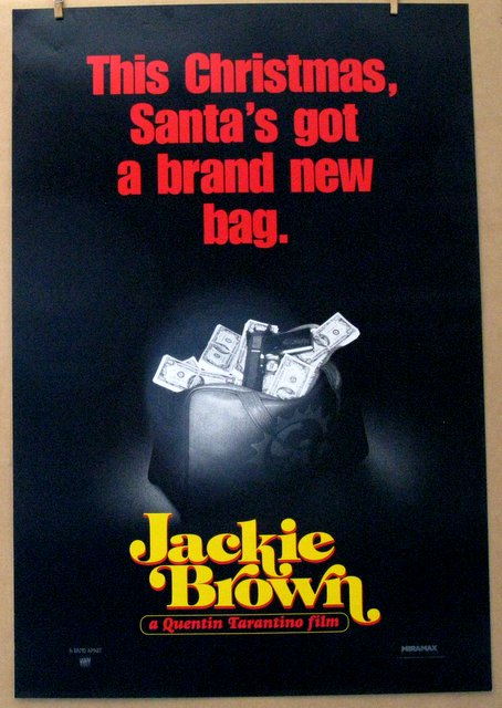 QUENTIN TARANTINO'S JACKIE BROWN - 1997 - Advance One Sheet Movie Poster - 27