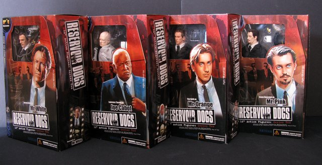 QUENTIN TARANTINO'S RESERVOIR DOGS - COMPLETE SET OF FOUR - SERIES TWO 12