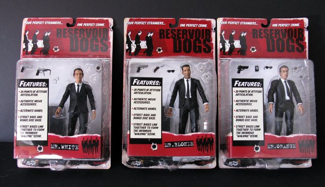 QUENTIN TARNTINO'S RESERVOIR DOGS - SET OF THREE 7