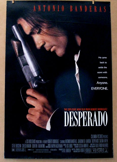ANTONIO BANDERAS - DESPERADO - 1995 - One Sheet Movie Poster - 27