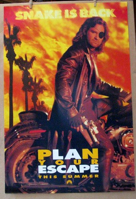 SNAKE PLISSKEN - ESCAPE FROM LA - 1996 - Advance One Sheet Movie Poster - 27