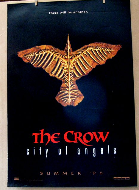 THE CROW CITY OF ANGELS - 1996 - Advance One Sheet Movie Poster - 27