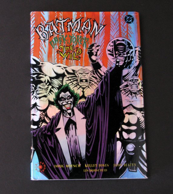 BATMAN - DARK JOKER THE WILD - DELUXE HARD COVER GRAPHIC NOVEL - DC Comics, 1993 - 120 full color pages. Near Mint.