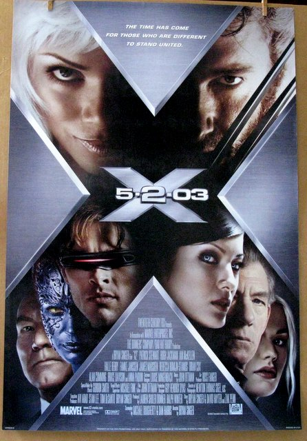 MARVEL - X-MEN 2 - 2003 - Style D One Sheet Movie Poster - 27
